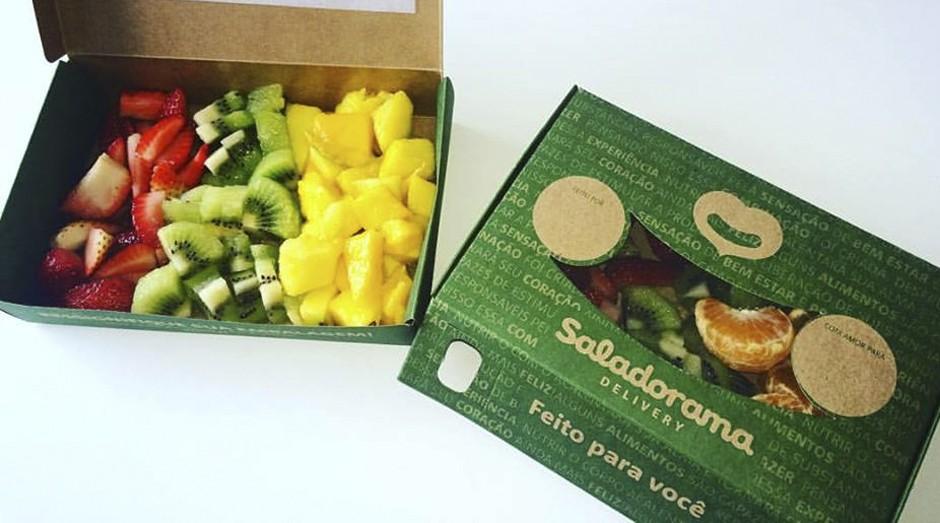 Produtos da Saladorama: empresa ajuda na questão da saúde familiar (Foto: Reprodução)